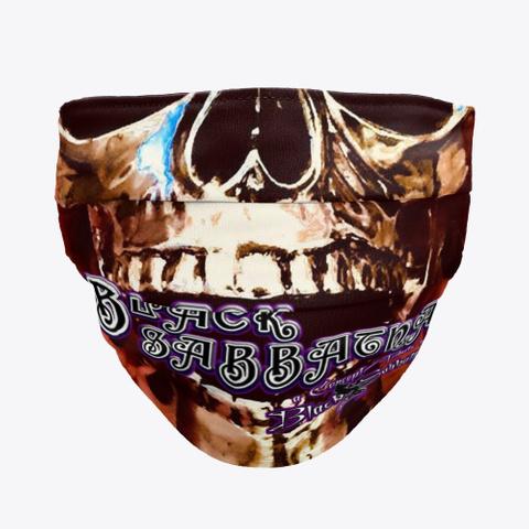 Sid Black Sabbatha Masks  Black T-Shirt Front