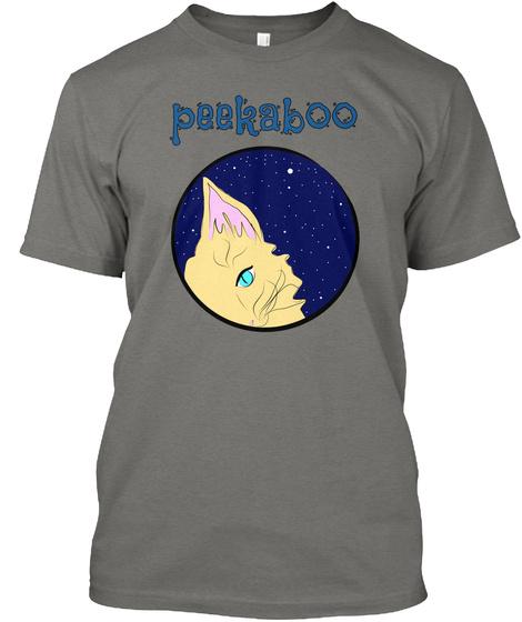 Peekaboo Grey T-Shirt Front