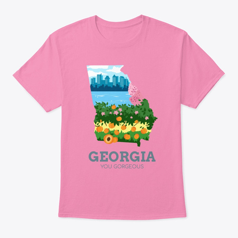 Georgia You Gorgeous Pink T-Shirt Front