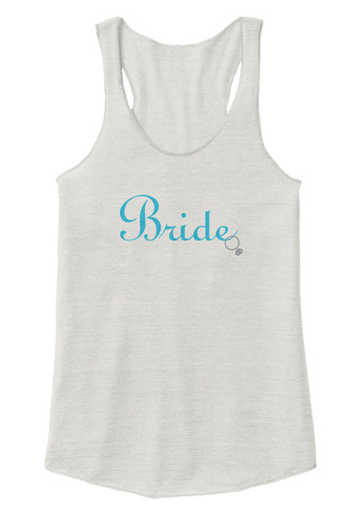 Bride Eco Ivory  T-Shirt Front