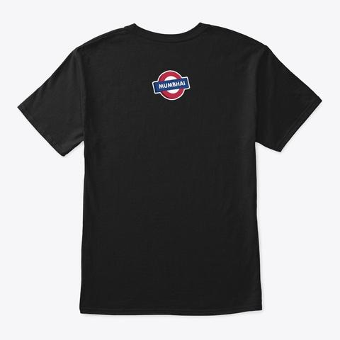 Mumbai Sealink Black T-Shirt Back