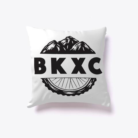 Bkxc Logo Pillow White T-Shirt Front