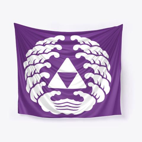 Benzaiten Purple T-Shirt Front