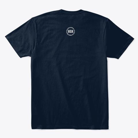 N/A New Navy T-Shirt Back