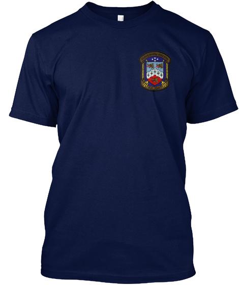 Uss Kirk (Ff 1087) Memories Navy T-Shirt Front