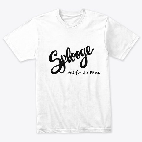 Splooge Band Tee Heather White T-Shirt Front