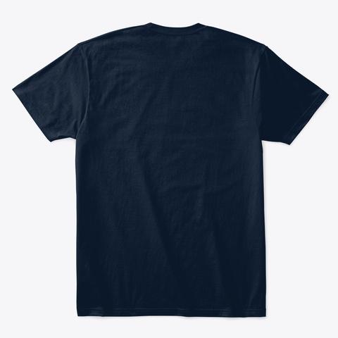''art Girls'' /Rawdom New Navy T-Shirt Back