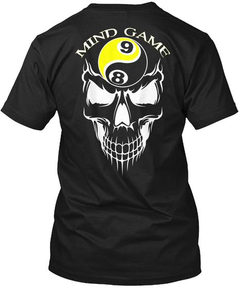 Mind Game 98 Black T-Shirt Back