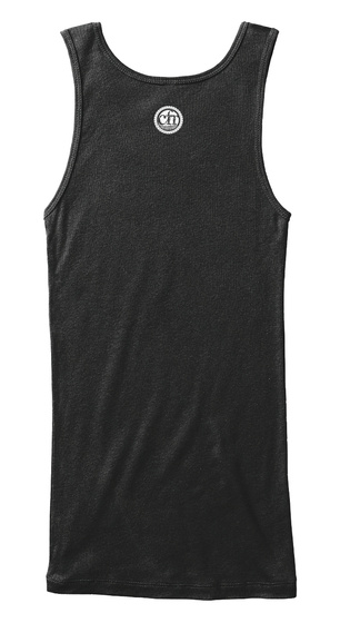 Danger: Combustible. No Gaslighting. Black Women's Tank Top Back