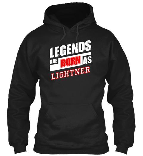 Lightner Family Name Shirt Black T-Shirt Front