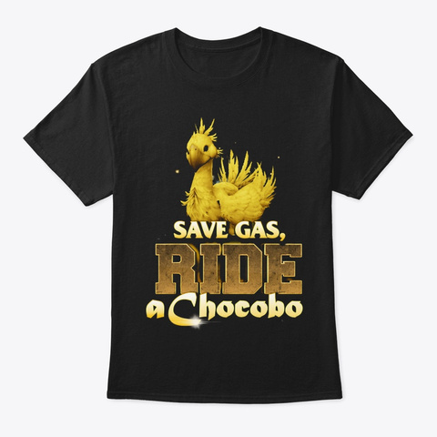 Ccb Save Gas Black T-Shirt Front