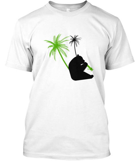 420 White T-Shirt Front