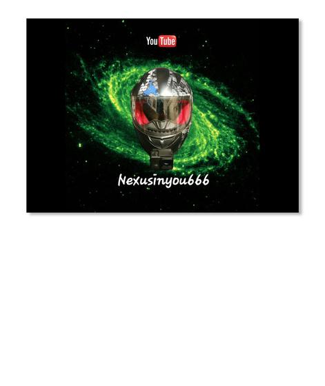 You Tube Nexusinyou666 Black T-Shirt Front