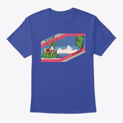 Emerald Coast Deep Royal T-Shirt Front