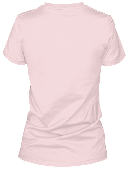 Impeachara®   Women's Short Sleeve Pink T-Shirt Back