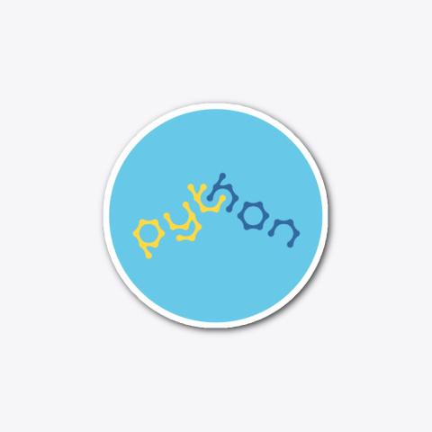 Python (Sticker) Standard T-Shirt Front