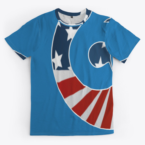 69 Patriot Denim Blue T-Shirt Front