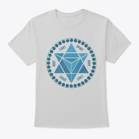 Merkabah Light Steel T-Shirt Front
