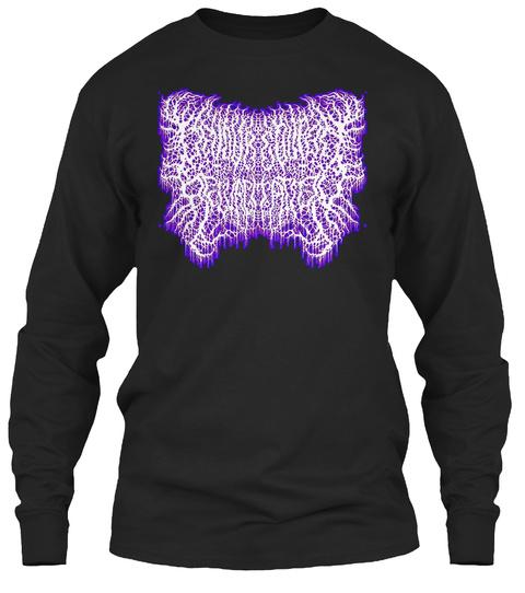 Devoured Upon Regurgitation Gore Grind Black Long Sleeve T-Shirt Front