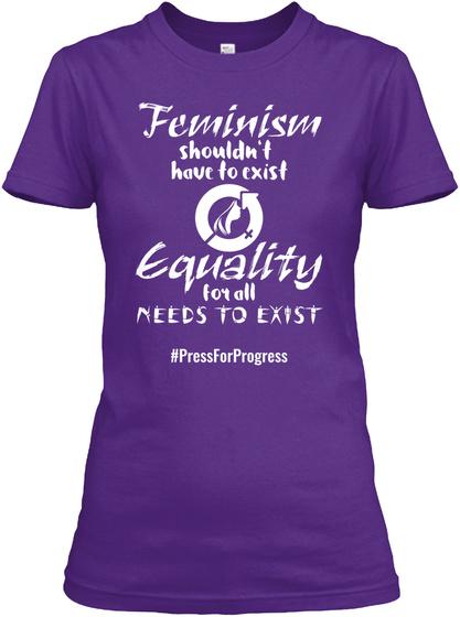 Iwd 2018 T Shirt  Purple T-Shirt Front