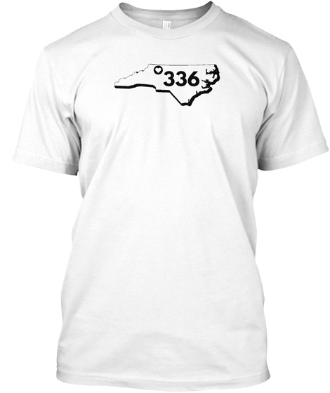 336 White T-Shirt Front