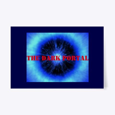 The Dark Portal Merchandise Dark Navy T-Shirt Front