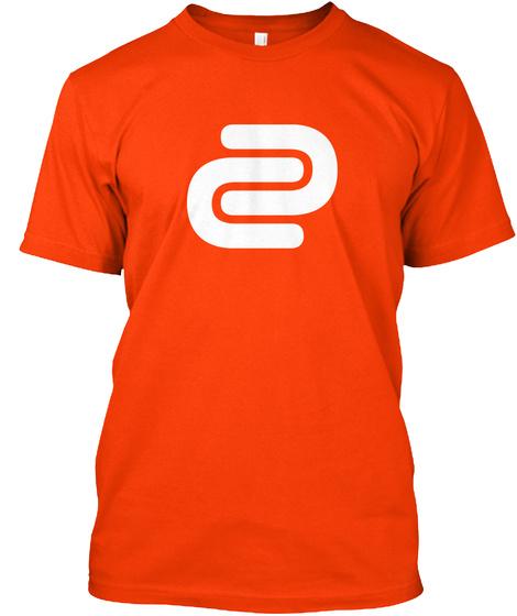 David Cutter Music Orange Tee Orange T-Shirt Front