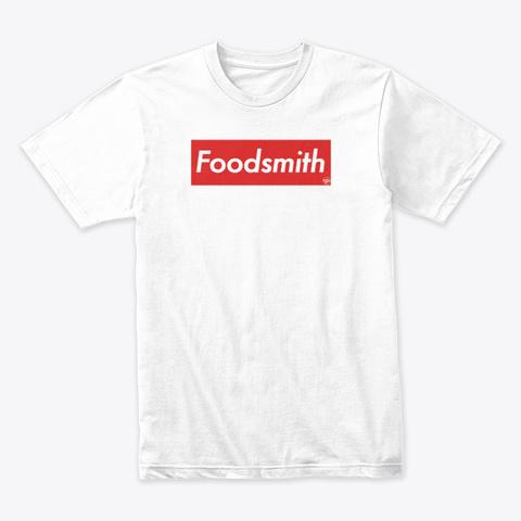 Foodsmith Box White Kaos Front