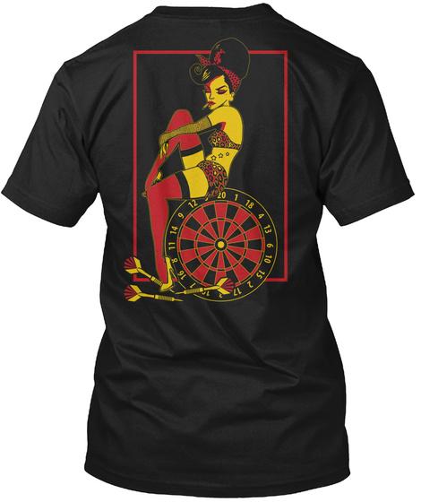 Darts Temptress 2 Black T-Shirt Back