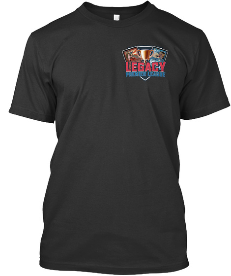 Legacy Premier League   Eu Store Black T-Shirt Front