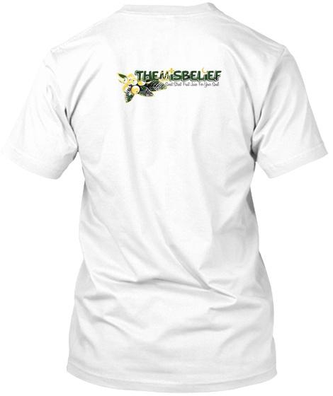 Themisbelief White T-Shirt Back