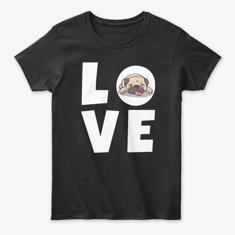 My Pug Is My Valentine Gift Unisex Tshirt