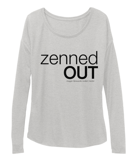 Zenned Out Athletic Heather T-Shirt Front