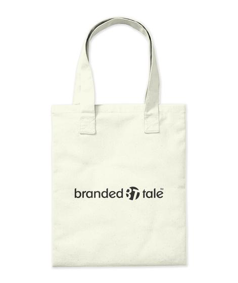 Branded Tale Natural T-Shirt Back
