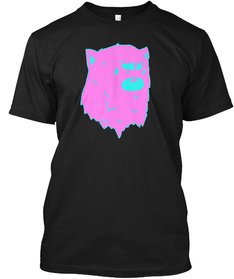 Stensin Black T-Shirt Front