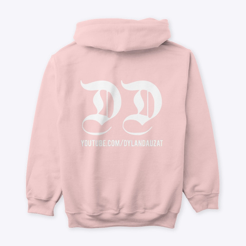 Dylan  Connect Clothing Light Pink Sweatshirt Back