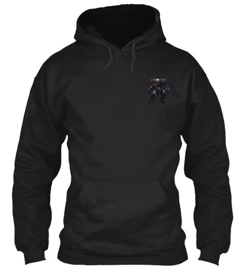 Battletech: Mech Warriors Unite! Black Sweatshirt Front
