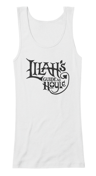 Lilah's Guide To Hoy Le White Women's Tank Top Front