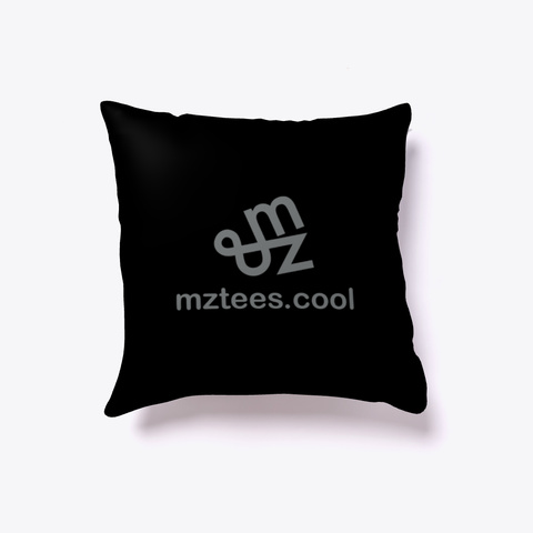 Jargon Pillow Black T-Shirt Back