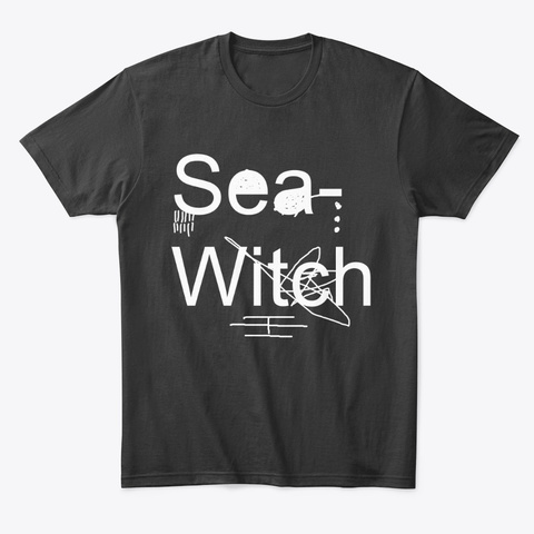 Classic Sea Witch Shirt Black T-Shirt Front