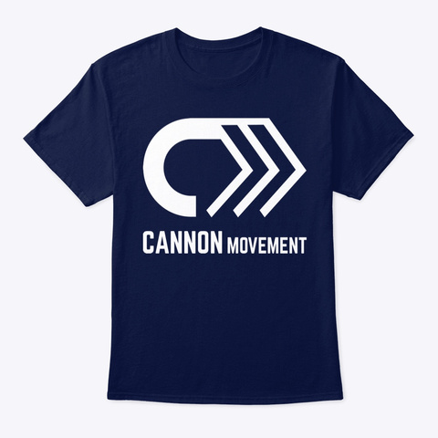 Cannon Movement Gear Navy T-Shirt Front
