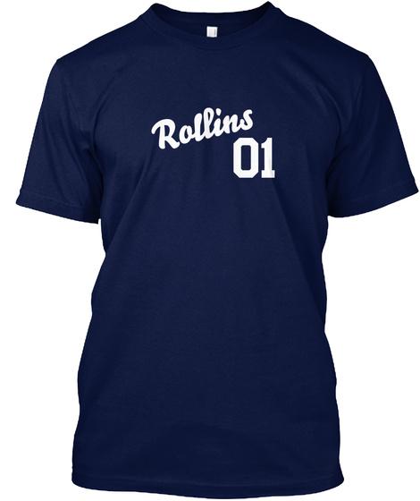 Rollins Varsity Legend Navy T-Shirt Front