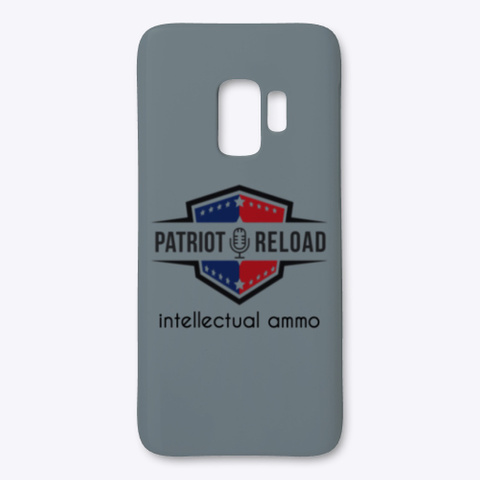 Patriot Reload Swag! Medium Grey T-Shirt Front