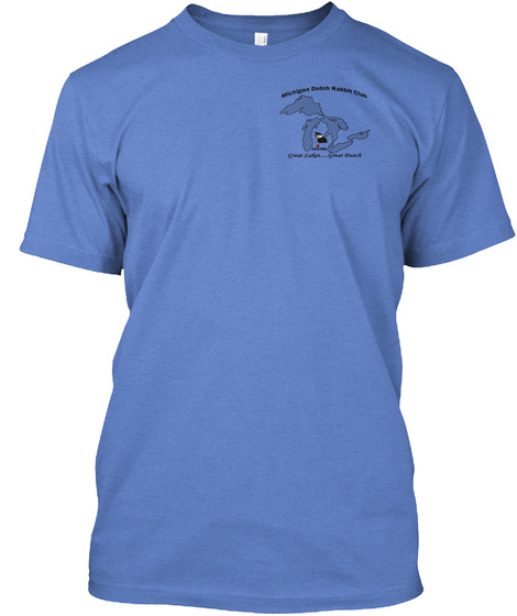 2018 National Dutch Show Heathered Royal  T-Shirt Front