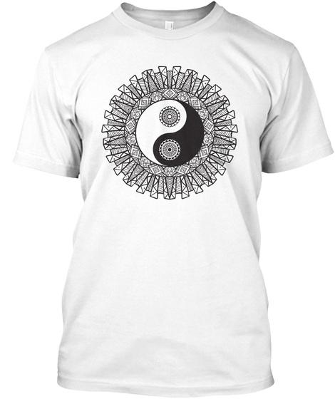 Yoga T Shirt White T-Shirt Front