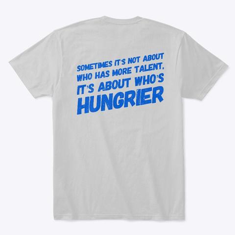 Tiger Pride Light Heather Grey  T-Shirt Back