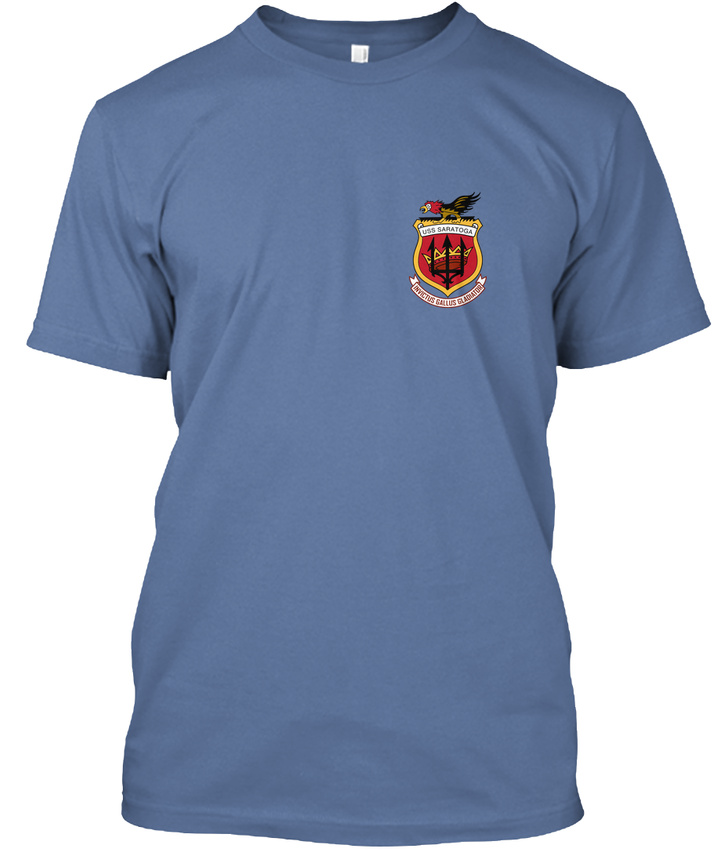Uss-Saratoga-Ods-Veteran-Cv-60-Battle-Force-Yankee-Hanes-Tagless-Tee-T-Shirt miniature 24