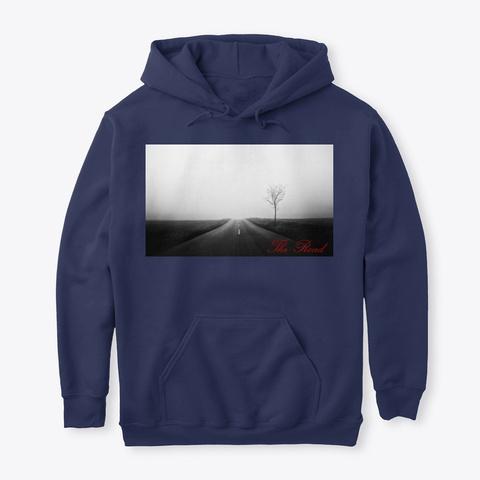 The Road V2 Album Merch Navy T-Shirt Front