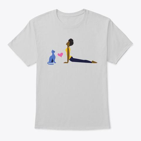 Cat Lovers T Shirt Light Steel T-Shirt Front