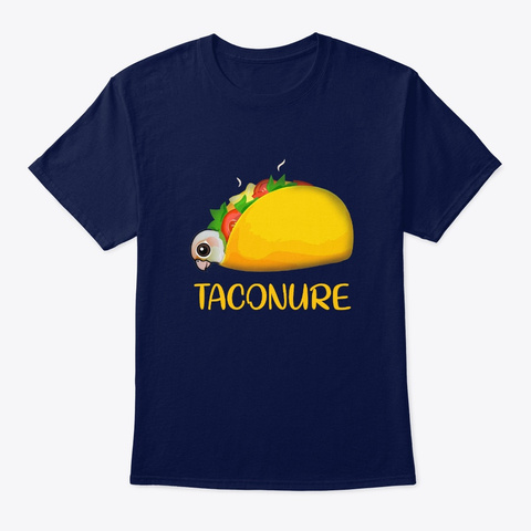 Conure Taconure Navy T-Shirt Front